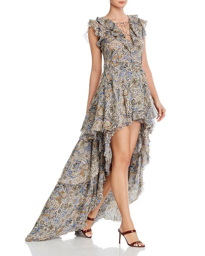 Redemption - Silk Ruffled High/Low Dress