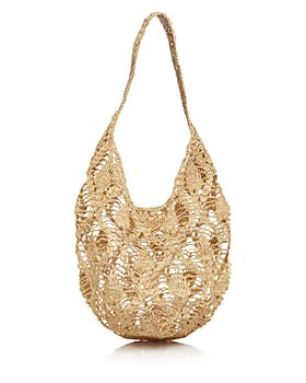 mar Y sol - Flora Medium Raffia Tote