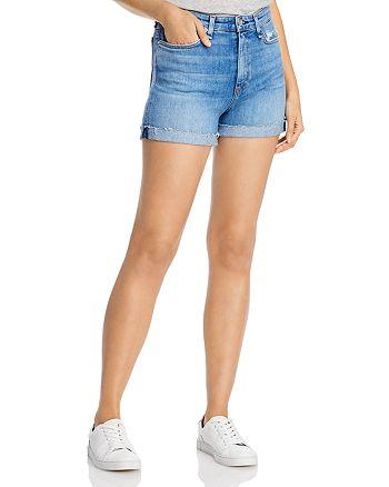 rag & bone - Nina Cuffed Denim Shorts in Palmer