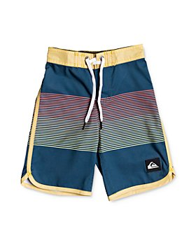 Quiksilver - Boys' Everyday Grassroots Color-Blocked Swim Trunks - Big Kid