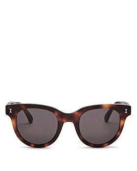 Illesteva - Women's Sicilia Cat Eye Sunglasses, 49mm