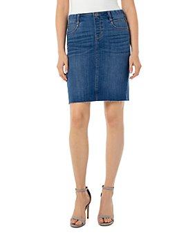 Liverpool Los Angeles - Gia Denim Pencil Skirt