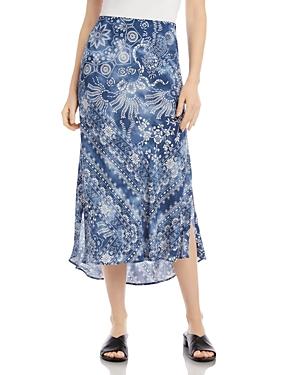 Karen Kane Printed Midi Skirt