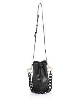 Tara Zadeh - Leather Bucket Bag