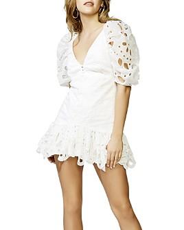 Bardot - Margot Cotton Mini Dress