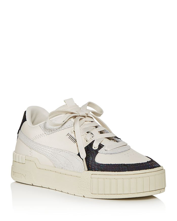 Puma WOMEN'S CALI SPORT SNAKE-EMBOSSED LOW-TOP SNEAKERS