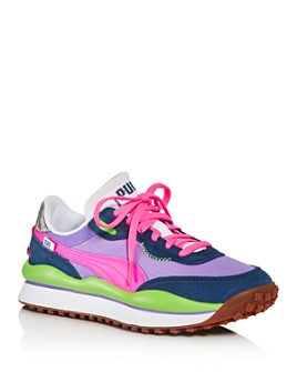 PUMA - Women's Style Rider Play On Low-Top Sneakers