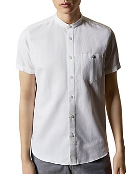 Ted Baker - Glate Band Collar Shirt