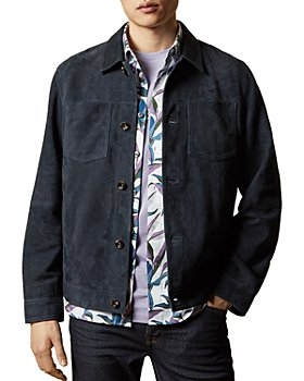 Ted Baker - Surcle Suede Jacket