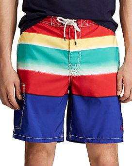 Polo Ralph Lauren - Kailua Striped Swim Trunks