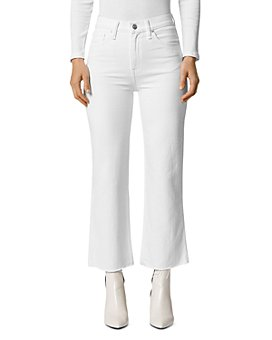 Hudson - Remi High-Rise Ankle Jeans in White