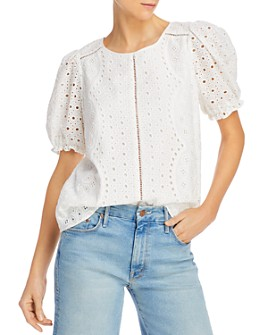 Parker - Holland Eyelet Blouse - 100% Exclusive