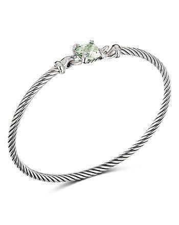 David Yurman - Chatelaine® Bracelet with Prasiolite and Diamonds
