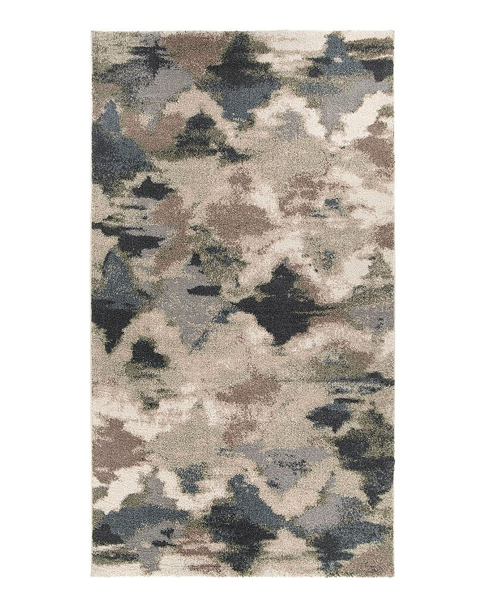 Palmetto Living Mystical Harlequin Area Rug, 7'10 X 10'10 In Muted Blue