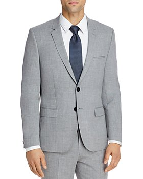 HUGO - Astian Textured Solid Extra Slim Fit Suit Jacket