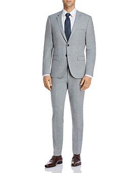 HUGO - Astian & Hesten Textured Solid Extra Slim Fit Suit Separates