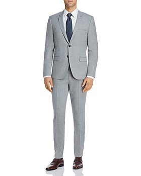 HUGO - Astian & Hesten Textured Solid Extra Slim Fit Suit Separates