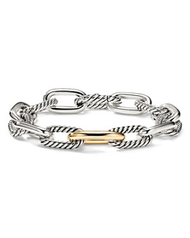 David Yurman - Madison Medium Bracelet with 18K Gold