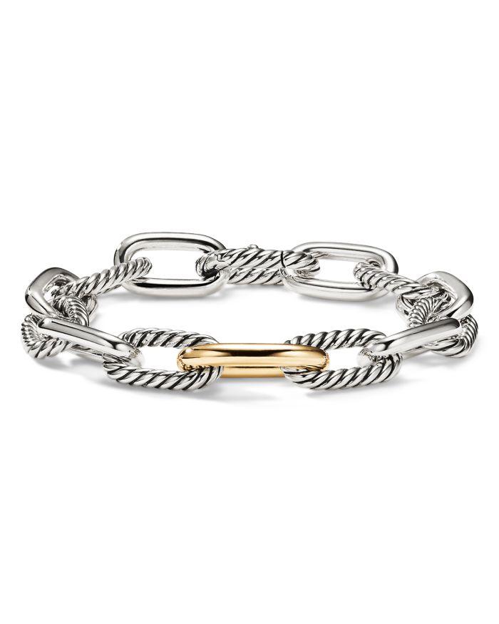 David Yurman Madison Medium Bracelet with 18K Gold    Bloomingdale's