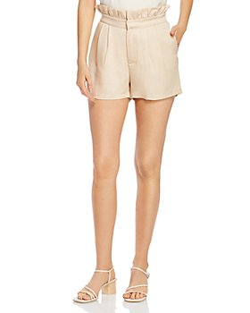 cupcakes and cashmere - Leah High-Waist Paper Bag Shorts