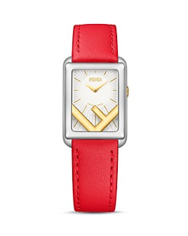 Fendi - Run Away Rectangle Watch, 22.5mm x 32mm