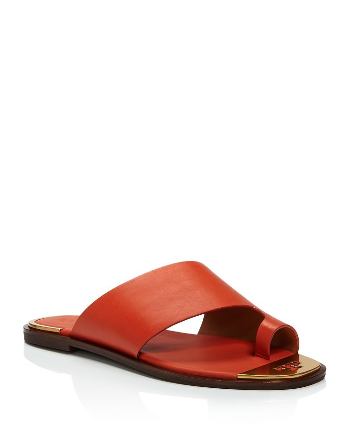 Tory Burch - Women's Selby Toe Ring Slide Sandals