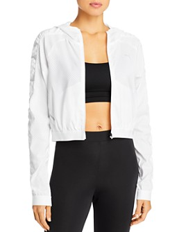 PUMA - Be Bold Zippered Mesh Jacket