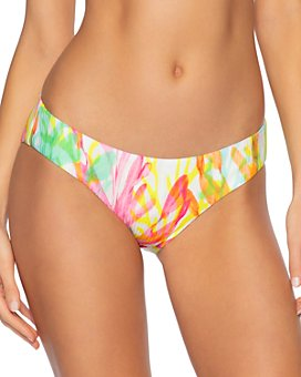 BECCA® by Rebecca Virtue - Coral Reef Printed Bikini Bottom