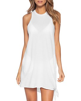 BECCA® by Rebecca Virtue - Beach Date Knot-Hem Cover-Up Dress