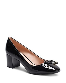 kate spade new york - Women's Bev Bow Mid-Heel Pumps
