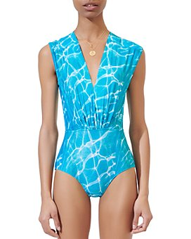 Maje - Tiswim Abstract-Print Bodysuit