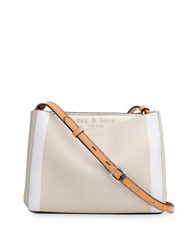 rag & bone - Passenger Striped Small Leather Crossbody