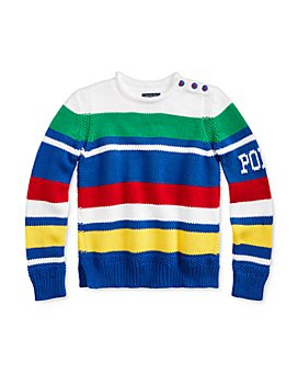 Ralph Lauren - Girls' Striped Roll-Neck Sweater - Big Kid
