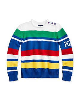 Ralph Lauren - Girls' Striped Roll-Neck Sweater - Big Kid