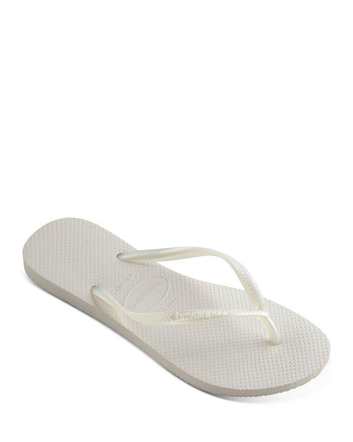 Havaianas Women's Slim Flip-flops In White