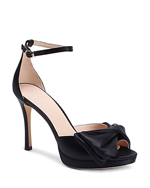 kate spade new york Women's Bridal Bow Strappy High-Heel Sandals
