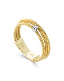 Marco Bicego - 18K White Gold & 18K Yellow Gold Diamond Multi-Row Band - 100% Exclusive