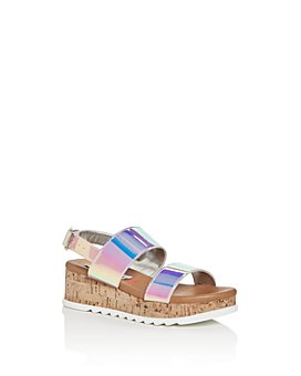 STEVE MADDEN - Girls' JBrenda Slingback Platform Sandals - Little Kid, Big Kid