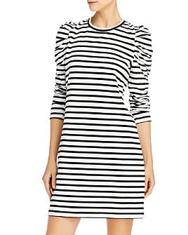 Rebecca Minkoff - Talia Cotton Puff-Sleeve Dress