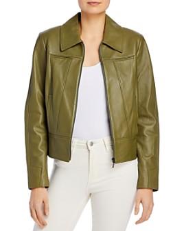 Elie Tahari - Addison Leather Jacket