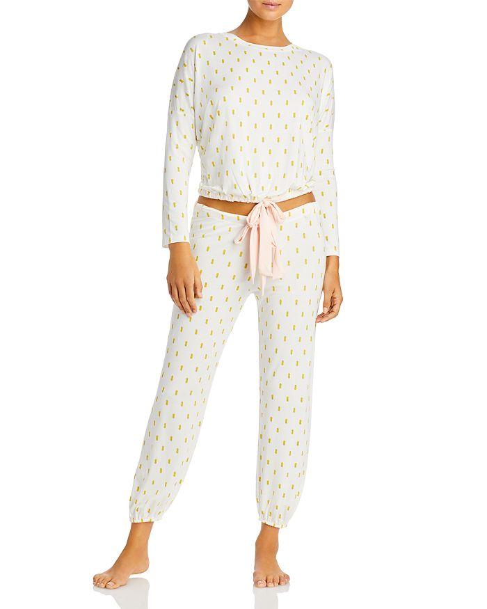 Eberjey - Pineapple-Print Pajama Set - 100% Exclusive