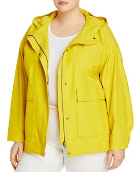 Eileen Fisher Plus - Hooded Jacket