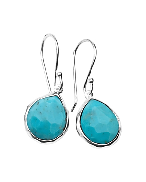 Ippolita Sterling Silver Rock Candy Turquoise Drop Earrings-Jewelry & Accessories