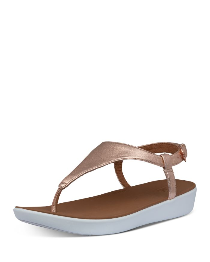 FitFlop Women's Lainey Slingback Thong Wedge Sandals  | Bloomingdale's