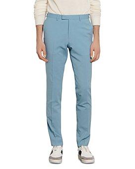 Sandro - Slim-Fit Summer Suit Pants