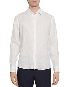 Sandro - Slim-Fit Seamless Linen Casual Shirt
