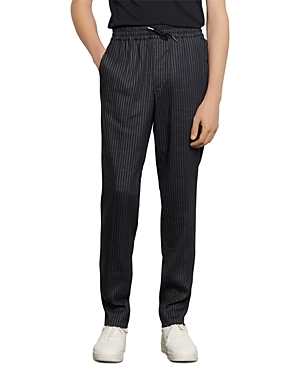 Sandro Alpha Pinstriped Pants