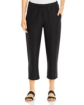 Eileen Fisher Petites - Cropped Pull-On Pants