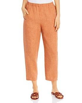 Eileen Fisher Petites - Organic Linen Lantern Pants