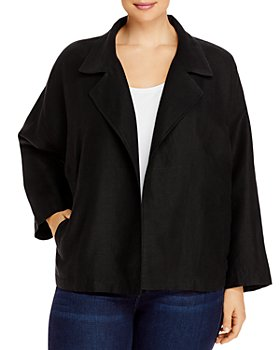 Eileen Fisher Plus - Boxy Fit Jacket